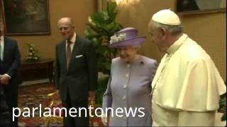 La Regina Elisabetta A Roma Incontra Napolitano E Papa Francesco Tutti I Video Parlamentonews